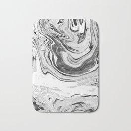 Marble Suminagashi 4 watercolor pattern art pisces water wave ocean minimal design Bath Mat