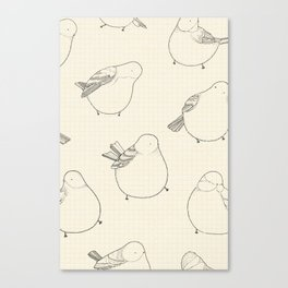 Birds a Plenty Canvas Print