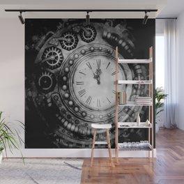 Clock Wall Mural