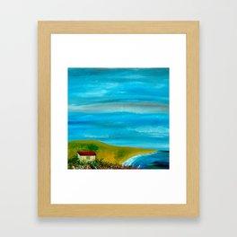 Solitary Sky's Framed Art Print