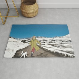 Tintin in Himachal Rug