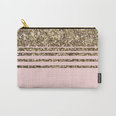 Glitter Pink Carry-All Pouch
