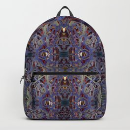 Skulls Purple Rouge Backpack