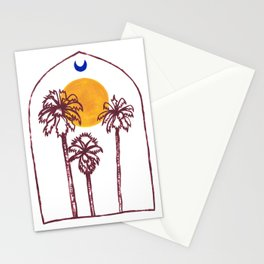 Luna Palm Stationery Cards