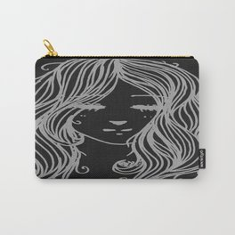 Grey Girl Carry-All Pouch