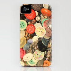 Push My Buttons iPhone (4, 4s) Slim Case
