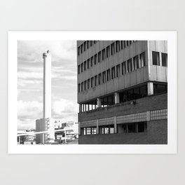 Ivory tower. Art Print
