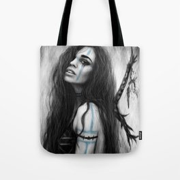 Death's Tireless Whisper Tote Bag