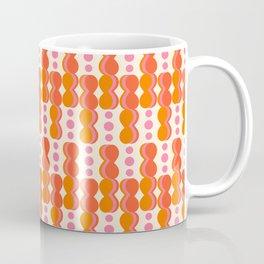 Uende Sixties - Geometric and bold retro shapes Coffee Mug