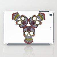 sugar skulls iPad Cases featuring Sugar Skulls by Weeverbee