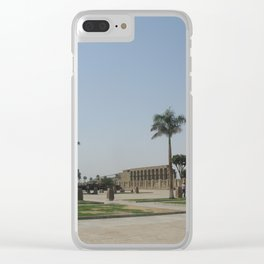 Temple of Luxor, no. 7 Clear iPhone Case