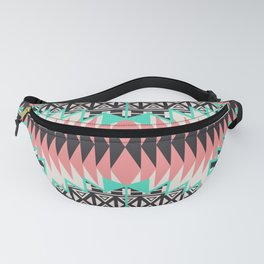 Tribal Beat Geo Pastel Fanny Pack