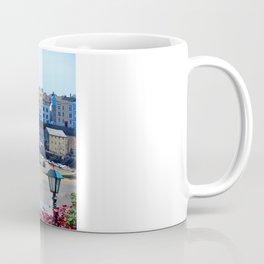 Tenby Harbour.Colour.Reflection. Coffee Mug