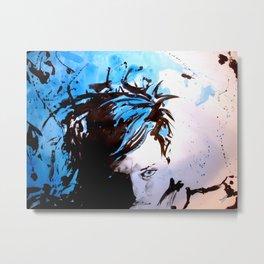 Steff Metal Print