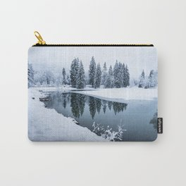 Dreamy Winterscape Carry-All Pouch