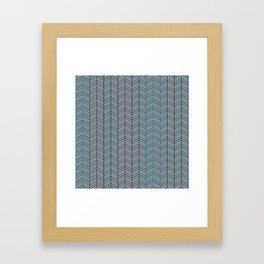 DIZZY RETRO Framed Art Print