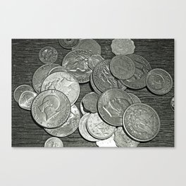 Thirty (Some Odd) Pieces Canvas Print