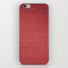Red Bricks Wall6473 iPhone & iPod Skin