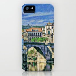 Amarante medieval bridge iPhone Case