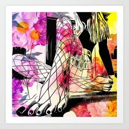 Net Stocking Art Print