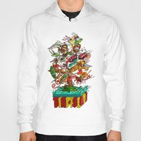 tiki Hoodies featuring Tiki Island by Doctor Juanpa