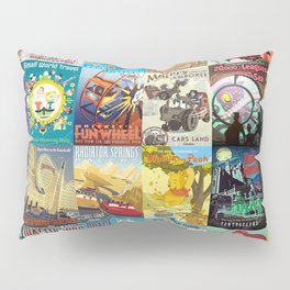 Amusement Rides Pillow Sham