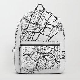 New York City Street Map Backpack