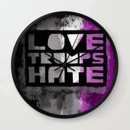 Ace Pride design- Vertical Wall Clock