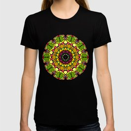 Mandala with play of colors T-shirt