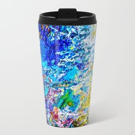Art of color palette Travel Mug