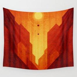 Mars - Valles Marineris Wall Tapestry