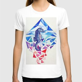Seahorse on the Ocean floor T-shirt