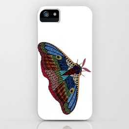 Shimmering Moth iPhone Case