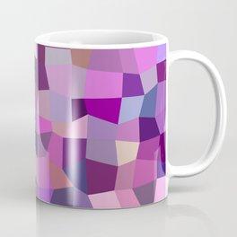 Purplish tile mosaic Coffee Mug