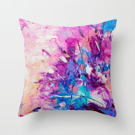 Paradise Bush Throw Pillow
