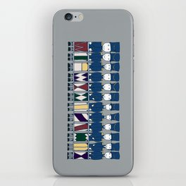 Twelve Drummers Drumming iPhone Skin