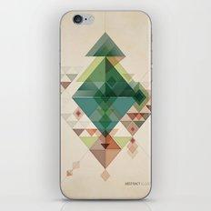 Abstract illustration iPhone & iPod Skin