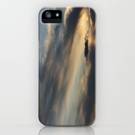 Sunset Over Lake Michigan iPhone Case