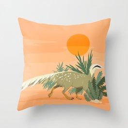 Saturnalia tupiniquim Throw Pillow