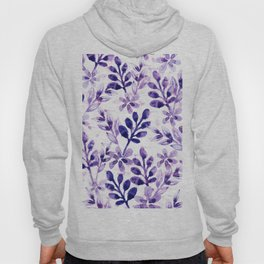 Watercolor Floral VIV Hoody