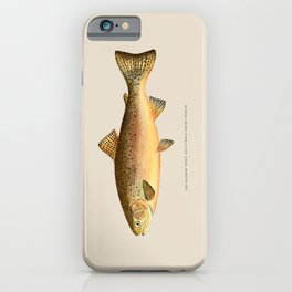 The Rainbow Trout iPhone Case