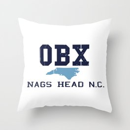 Nags Head - North Carolina. Throw Pillow