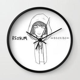 Redrum 01 Raina Wall Clock