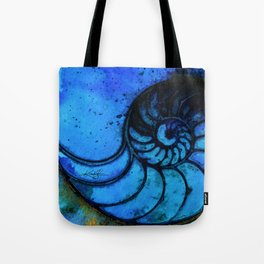 Nautilus Shell No. 987 by Kathy Morton Stanion Tote Bag