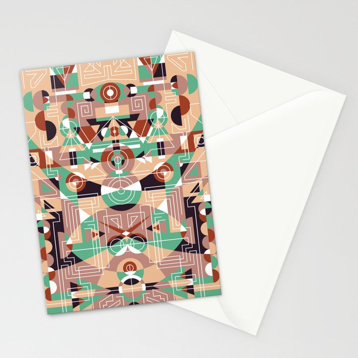 Tribal Technology 1 Stationery Cards