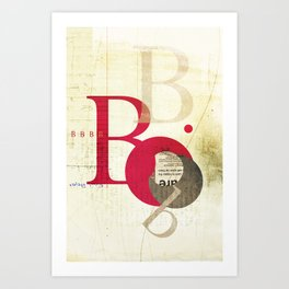 Perpetua B Art Print