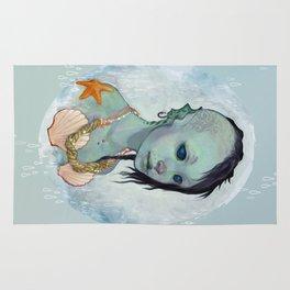 A Little Mermaid Rug