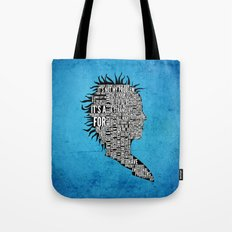 Typography Marla Singer Tote Bag