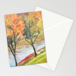 Kansas trees landscape Stationery Cards