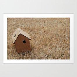 House on the Prairie Art Print